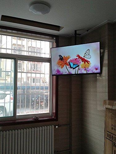 Supporto TV montaggio a soffitto staffa TV da