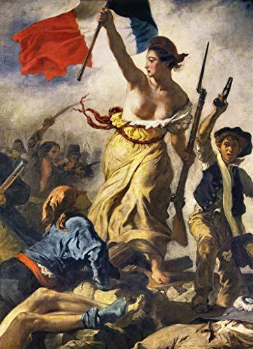 Kunstdruck/Poster: Eugène Delacroix Die Freiheit führt das Volk Detail II - hochwertiger Druck, Bild, Kunstposter, 60x85 cm