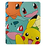 Pokémon, 'Meet the Group' Fleece Throw Blanket, 45' x 60', Multi Color
