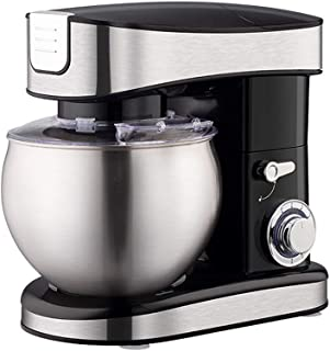 WCHCJ Food Processor 6.5L 1500W 6-Speed Kitchen Stand Mixer Cream Egg Whisk Blender Cake Dough Mixer Bread Maker Machine