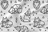 Bedruckte Baumwolle 100% Eco-Print Origami Bedruckter Stoff