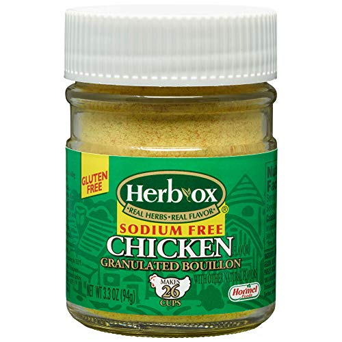 HERB-Ox Chicken Granulated Bouillon, Sodium Free, 3.3 Ounce
