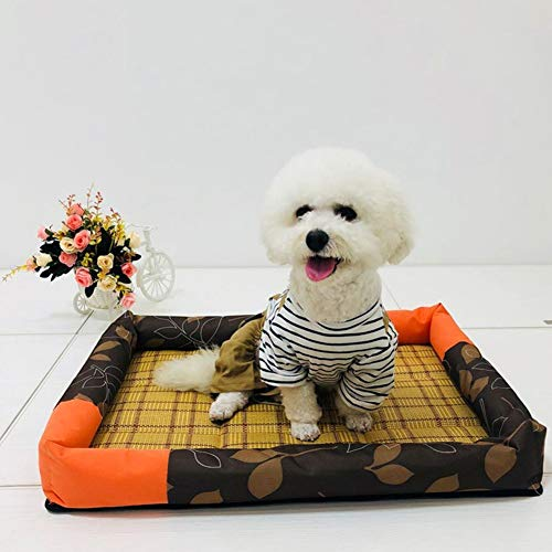 KDDD Alfombrilla De Refrigeración Animales Nevera Y Manta para Perro Fresco Cojín Azul Techo Camas Suelo Couch Auto Refrescante Enfriador Mascotas Cojines Grandes para SueloStyle One