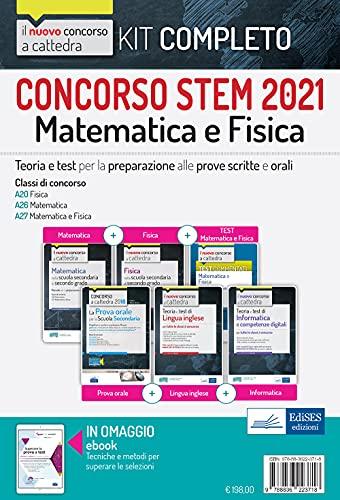 Concorso STEM 2021. Kit matematica e fisica