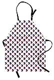 ABAKUHAUS Philippinisch Kochschürze, Muster von den Kreisen mit Flagge der philippinischen nationalen Symbol-Grafik-Ikone, Farbfest Höhenverstellbar Waschbar Klarer Digitaldruck, Mehrfarbig