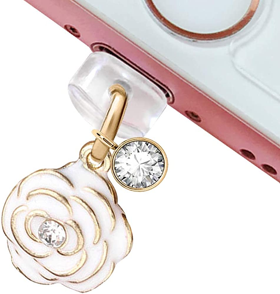 EIISE FONDA CP33 USB Super special price Charging Translated Port Plug Anti Dust Rose Little