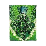 Seattle Sounders MLS Champions Fleece Throw Blankets Seattle FC Blanket Warm Lightweight Snuggle Men Women Kids Soccer Apparel Gifts (6080)