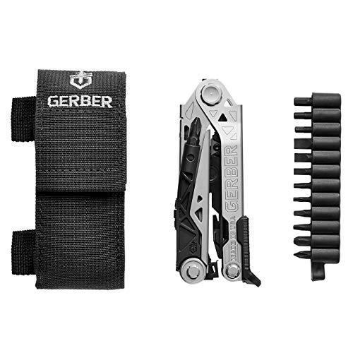 Gerber Center-Drive Multi-Tool | Bit Set, Black Sheath...