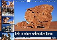 Fels in seiner schoensten Form (Wandkalender 2022 DIN A4 quer): Beeindruckende Naturkunstwerke aus Stein (Monatskalender, 14 Seiten )