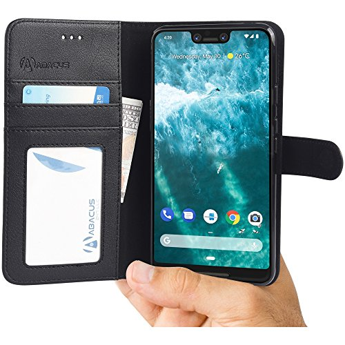 wallet with flip cover for google pixel 3 xl