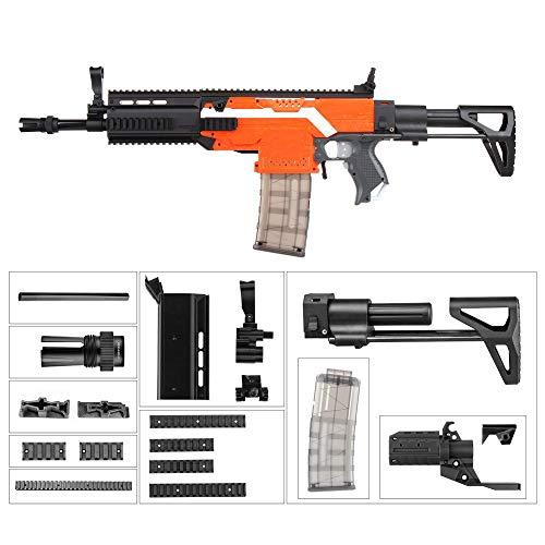 WORKER F10555 FN Scar A Style (Black Adaptor) for Nerf N-Strike Stryfe Blaster