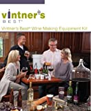 Vintner's Best Deluxe Wine Equipment Kit - 6 Gallon Glass Carboy