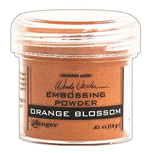 Ranger Wendy Vecchi Embossing Powders, Orange Blossom, 1-Ounce
