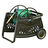AMES 2517000 NeverLeak Decorative Metal Cart 150-Foot Hose Capacity
