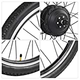 Kit de motor de bicicleta eléctrica, aleación de aluminio 36V 250W 26 pulgadas Bicicleta eléctrica Ebike Conversion Hub Motor Kit de rueda de motor, conversión de motor de bicicleta eléctrica(#1)