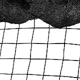 Bird Net - 50' x 50' Garden Netting with 2.4