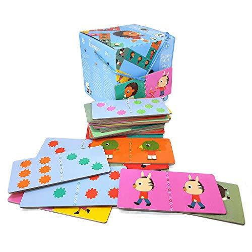 DJECO- Juegos familiaresDominóDJECOEducativos Domino Gigante Los Amigos, Multicolor (15)