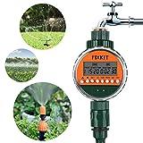 FIXKIT Bewässerungsuhr, Digitaler Wassertimer IP68 Wasserdichter LCD Bildschirm,...