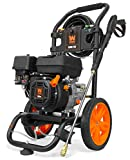 WEN PW3200 Gas-Powered 3200 PSI 208cc Pressure Washer, CARB Compliant, Black