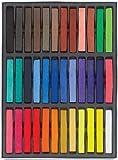 Boolavard 36 non-toxique temporaire des cheveux Pastel Chalk Kit de beauté
