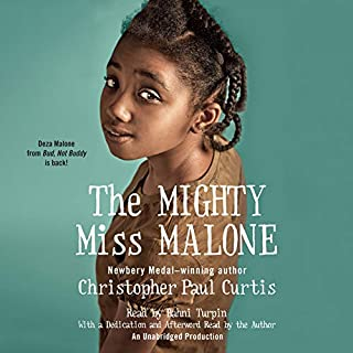 The Mighty Miss Malone audiobook cover art