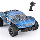 TOYEN RC Car 1/18 2.4Ghz Rock Off-Road Vehicle Fast Racing Cars 2WD Topspeed Drifting Car for Indoor/Outdoor
