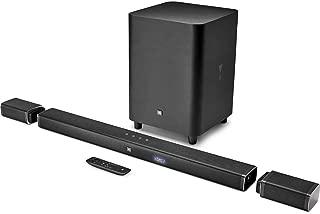 (Renewed) JBL 5.1 Channel 4K Ultra HD Sound bar with True Wireless Surround Speakers (Black)