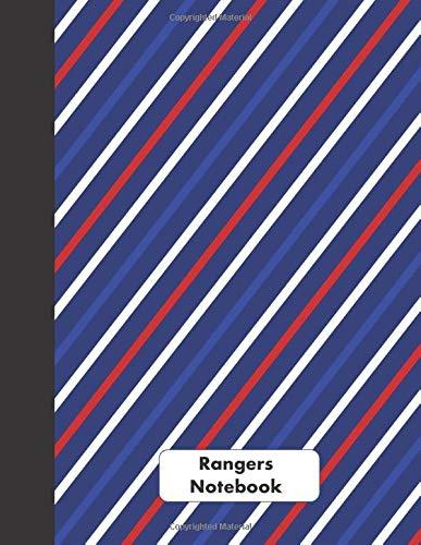 Rangers Notebook: 100% Unofficial Rangers FC Gifts for Men