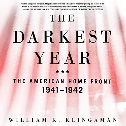 The Darkest Year audiobook cover art