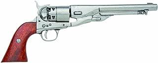 Denix M1860 Army Issue Revolver, Grey - Non-Firing Replica