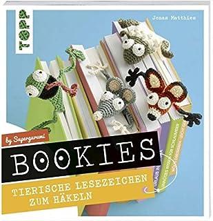 Bookies Marque-page en forme d'animal à crocheter