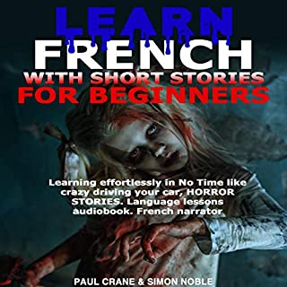 Learn French with Short Stories for Beginners cover art