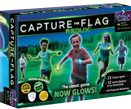 Capture the Flag REDUX: The Original Glow-in-The-Dark Outdoor Game for Birthday...