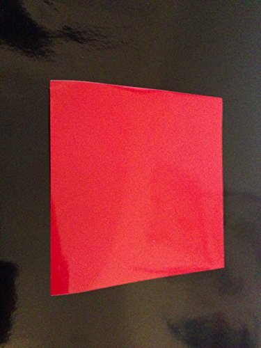 50 Red 6 inch Square Bathroom/Kitchen Tile Stickers Cheap and cost effective by Print247 Tile Stickers