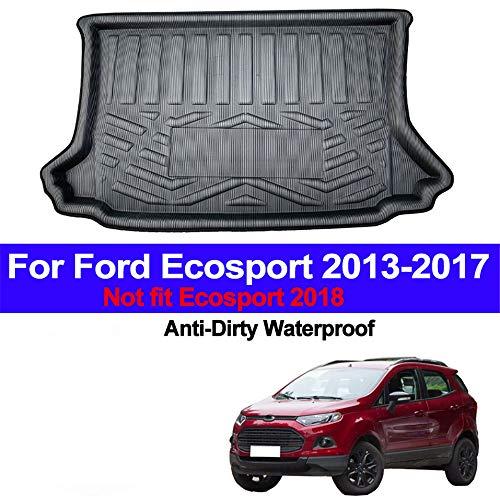 , Voor Auto Kofferbak Cargo Liner Kofferbak Vloermat Tapijten Bagagedrager Matten Pad Mat Tapijt, Voor Ford Ecosport 2013 2014 2015 2016 2017