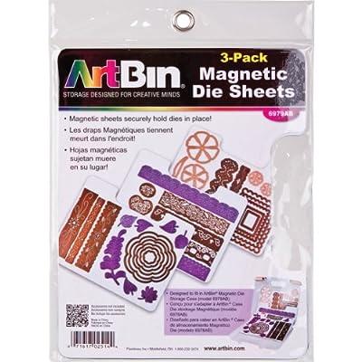 ArtBin 6979AB DIE Cut MAGENTIC STOAGE Sheets Refills 3PK, 3