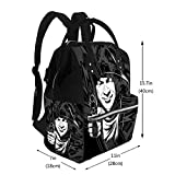 Nappy Bags Man Holding Weapon Diaper Bag Multi-Function Waterproof