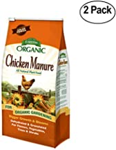 Espoma 839291COMBO n/aa GM25 Organic 3-2-3 Chicken Manure, 25 lb-2 Pack, Brown/A