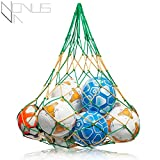 PREMIUM Ballnetz [GROß & ROBUST] Balltragenetz Ball Carry Net [5
