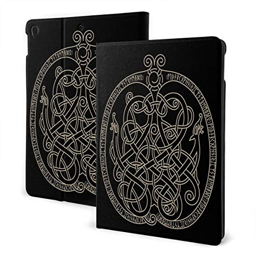 Ancient Decorative Dragon Celtic Style Case for IPad Air 3 (10.5-inch 2019) and IPad Pro 10.5 Inch Case TPU Protective Stand Cover with Auto Sleep/Wake for IPad Tablet