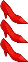 Decorative High Heel Door Stop, Hot Red Novelty Shoe, Bandwagon #L6560 - Lot of 3.