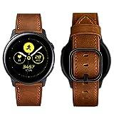 Aottom Compatible con Correa Samsung Galaxy Watch Active 2 44mm 40mm Piel Correa 20mm Reloj Samsung Galaxy Watch 42mm Pulsera para Samsung Galaxy Watch 3/Active/Garmin vívoactive/Huawei Watch GT2