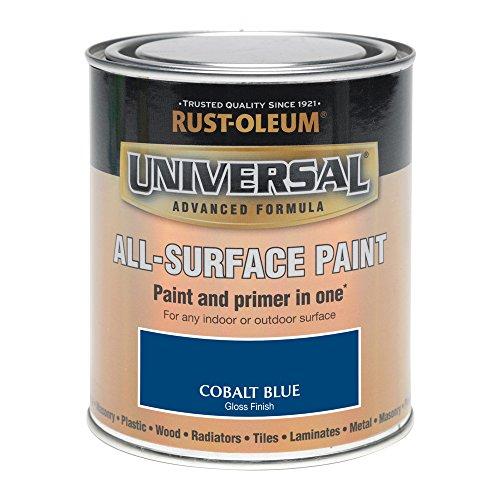 Rust-Oleum 250ml Universal Paint - Gloss Cobalt Blu