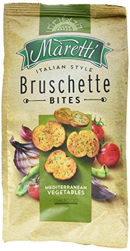 Maretti Bruschette Chips - Mediterranean Vegetables - Brotchips Mediterranes Gemüse - Bruschetta Chips - 150g