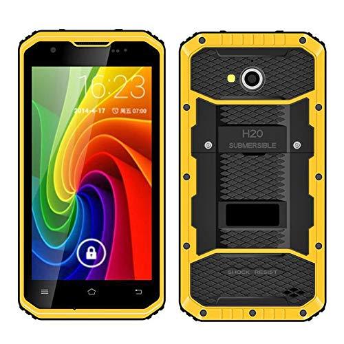HiDON - Smartphone 4G LTE resistente al agua (IP68, 16 GB de ROM, 8 MP + 2 MP, 5 pulgadas, HD, GPS/FM)