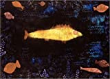 Poster 40 x 30 cm: Der Goldfisch von Paul Klee -