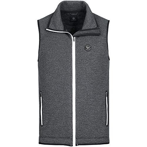 GIESSWEIN Merino Weste Stan - Ärmellose Jacke aus Merinowolle, Atmungsaktives Herren Gilet, Outdoor-Bekleidung für Sport & Freizeit