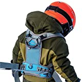 Sklon Ski and Snowboard Harness Trainer for Kids - Teach Your Child The Fundamentals of Skiing and Snowboarding - Premium Training Leash Equipment Prepares Them to Handle The Slopes (Blue Frost)