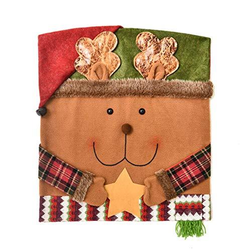 Cubierta de la Silla de la Historieta de la Navidad, Fundas de la Silla de la Cena de la Navidad, para la Fiesta casera del Hotel