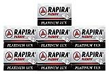 35 Cuchillas de afeitar RAPIRA PLATINUM LUX